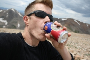 Self portrait of me and my Fat Tire (Mt. Bross)