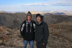 Greg and I on the summit of Mt. Belford