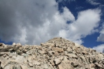 The final push to the summit of Mt. Princeton