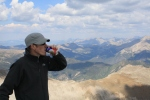 Fat Tire on Mt. Princeton