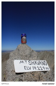 Mount Shavano - Fat Tire