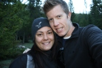 Courtney and I at the trailhead