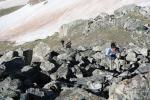 Boulder scrambling